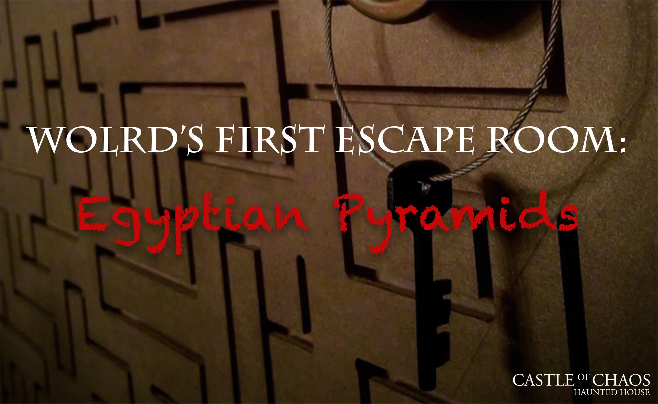 Egyptian Pyramids - Escape Room