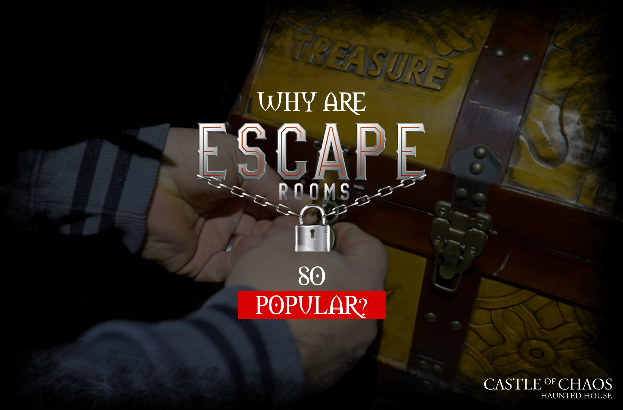 Why escape rooms are becoming so popular